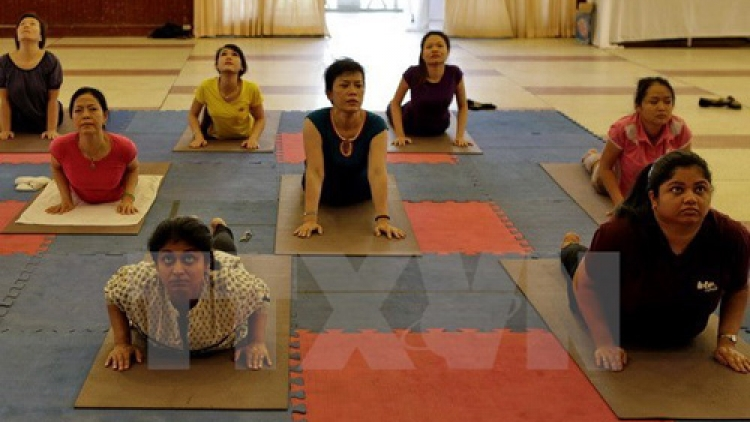 Danang programme responds to Int'l Yoga Day