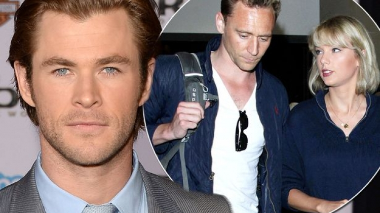 Chris Hemsworth: Tom Hiddleston và Taylor Swift đang rất hạnh phúc
