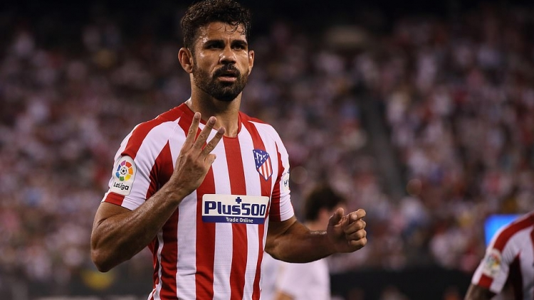 Diego Costa rực sáng, Ateltico Madrid thắng 7-3 Real Madrid