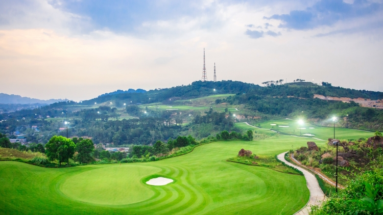 Bamboo Airways Golf Tournament 2018 tổ chức ở FLC Ha Long Golf Club