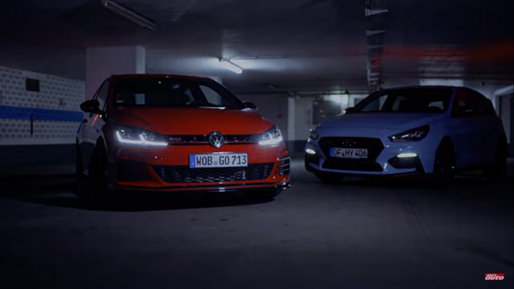 "Video: VW Golf GTI TCR ""đọ sức"" cùng Hyundai i30 N Performance"