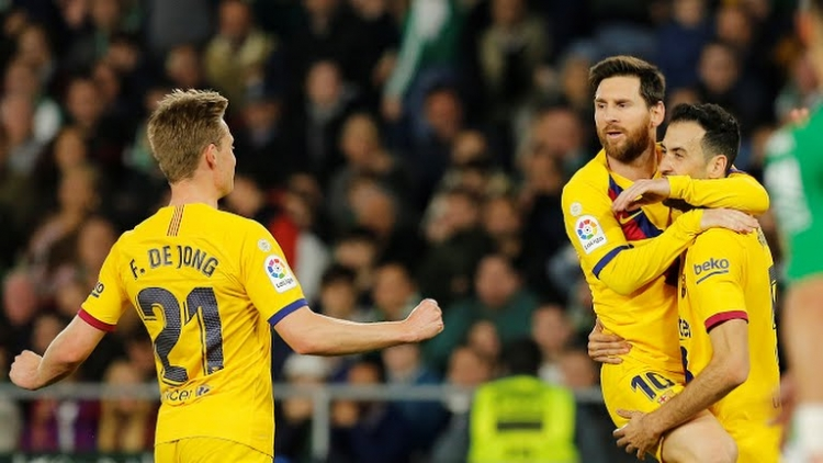 Lionel Messi lập hat-trick kiến tạo, Barca thắng nhọc Real Betis