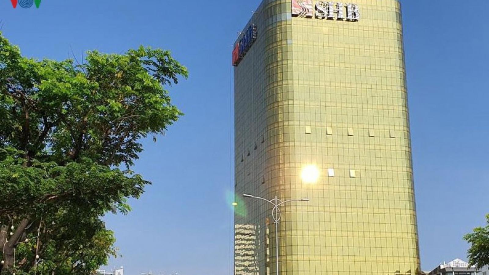Đề xuất phương án khắc phục chống lóa tòa nhà SHB Đà Nẵng