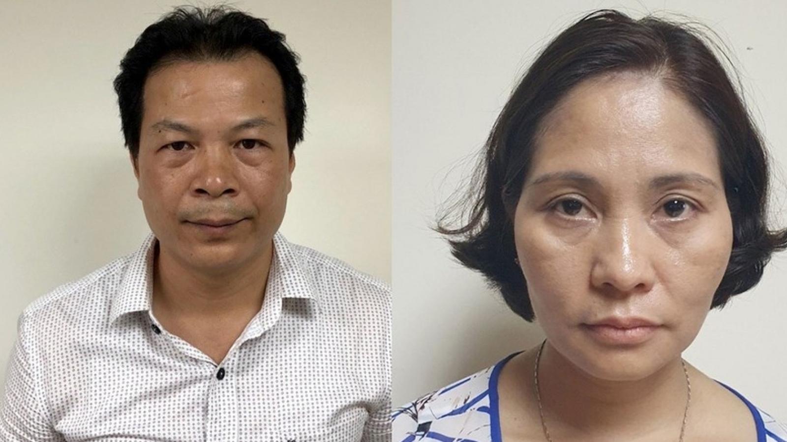 Nóng 24h: Vì sao 2 cán bộ CDC Hà Nội bị khởi tố?