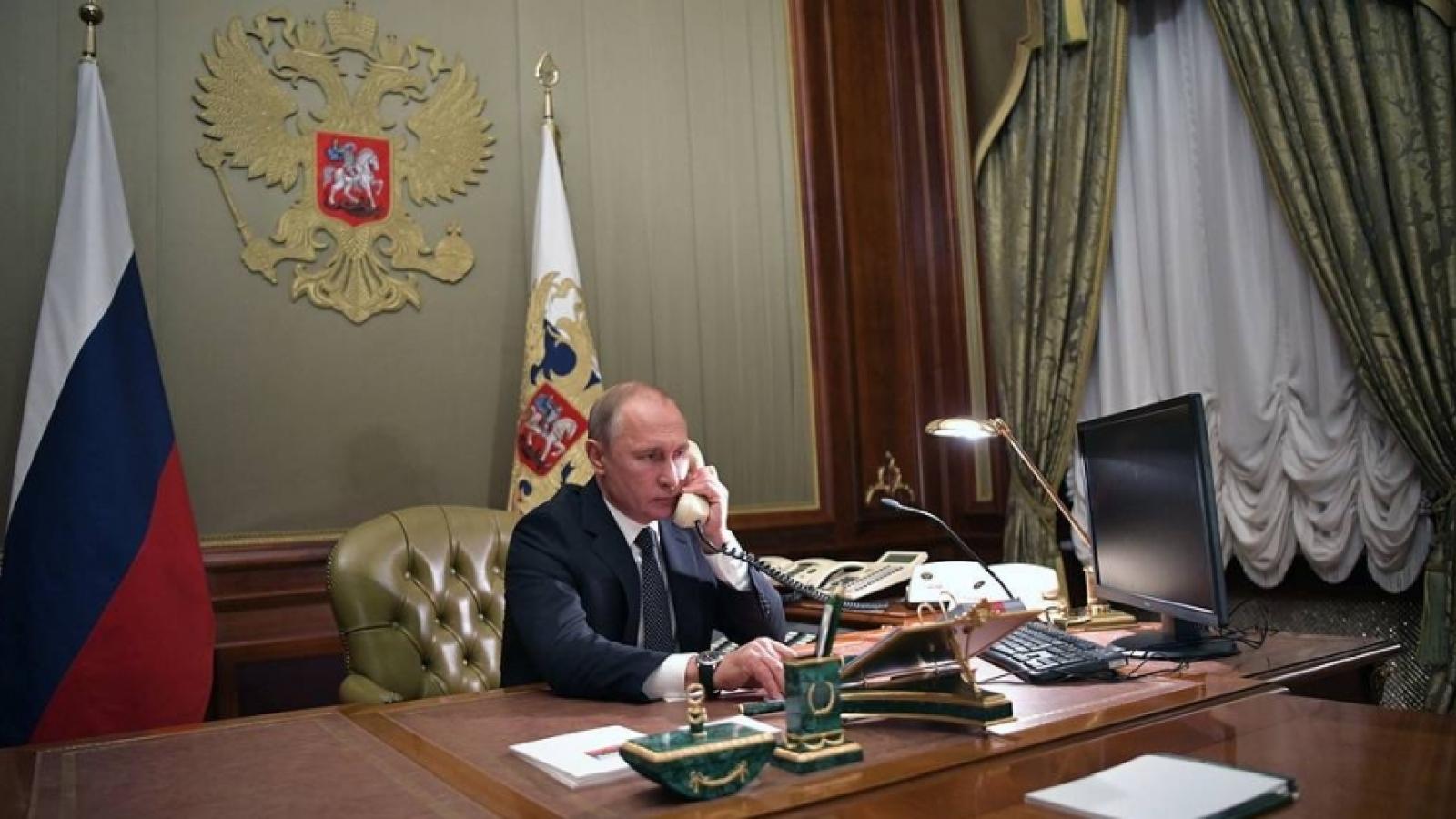 Lãnh đạo Nga-Đức điện đàm về một loạt vấn đề quan trọng