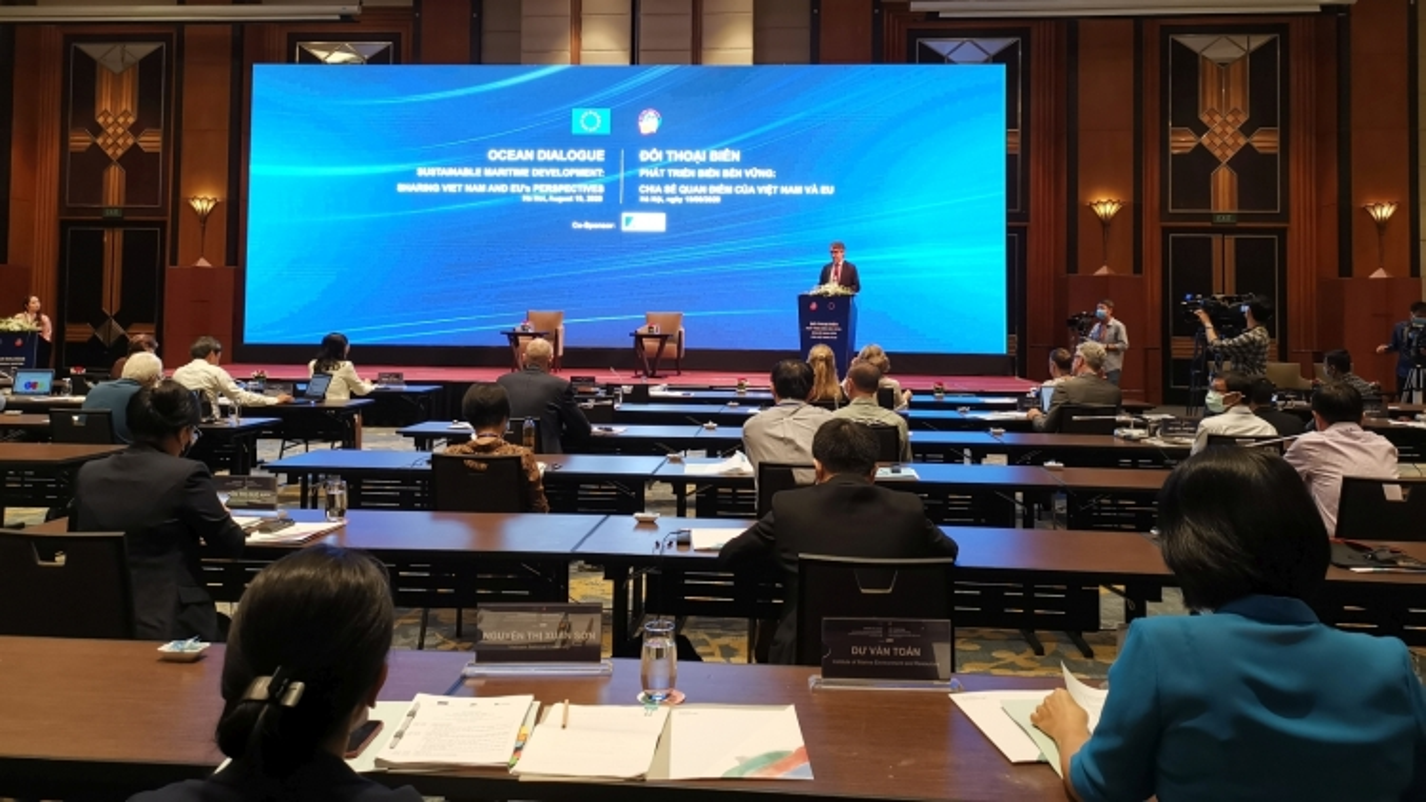Việt Nam coi trọng hợp tác với EU để thực hiện Chiến lược biển