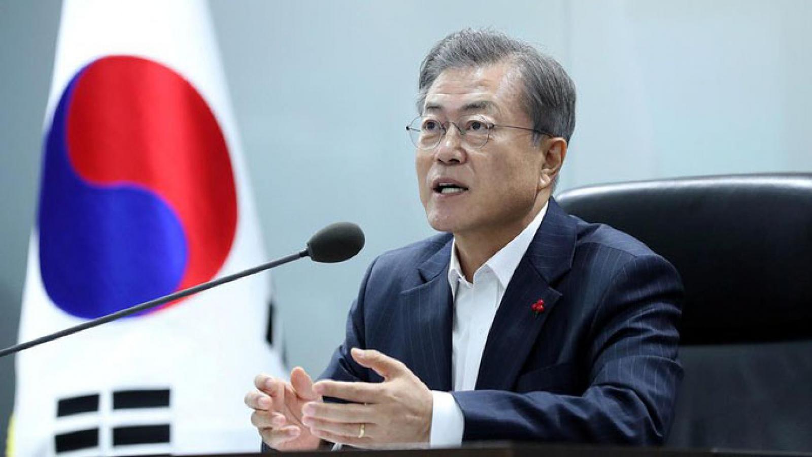 Hơn 54% cử tri ủng hộ cách điều hành của Tổng thống Hàn Quốc
