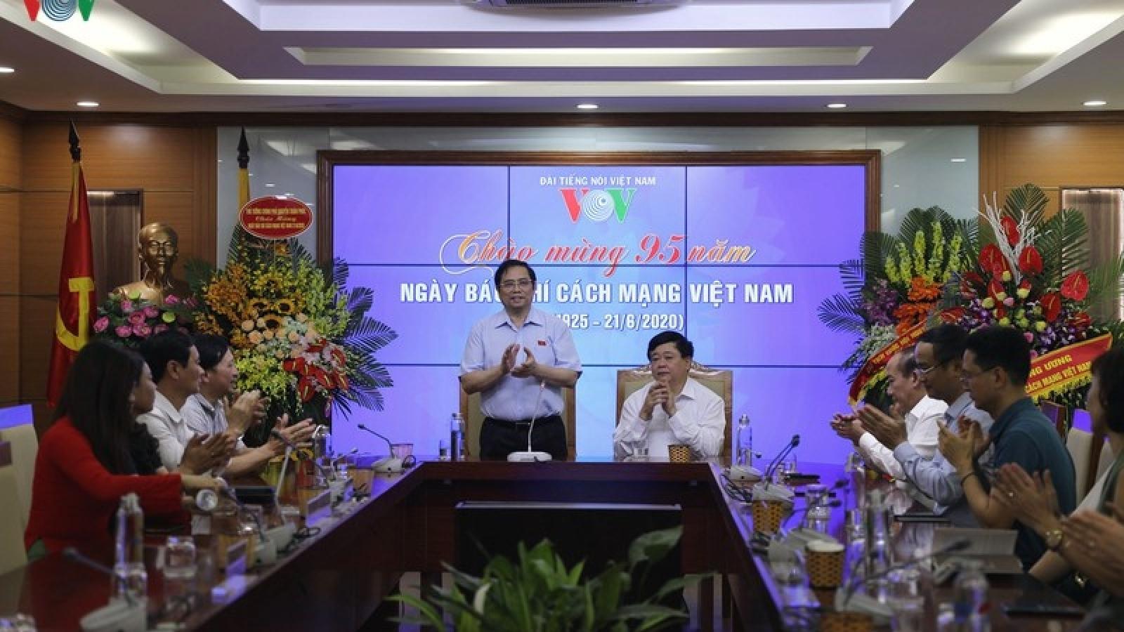 Lời cảm ơn của VOV nhân kỷ niệm 95 năm Ngày Báo chí Cách mạng Việt Nam