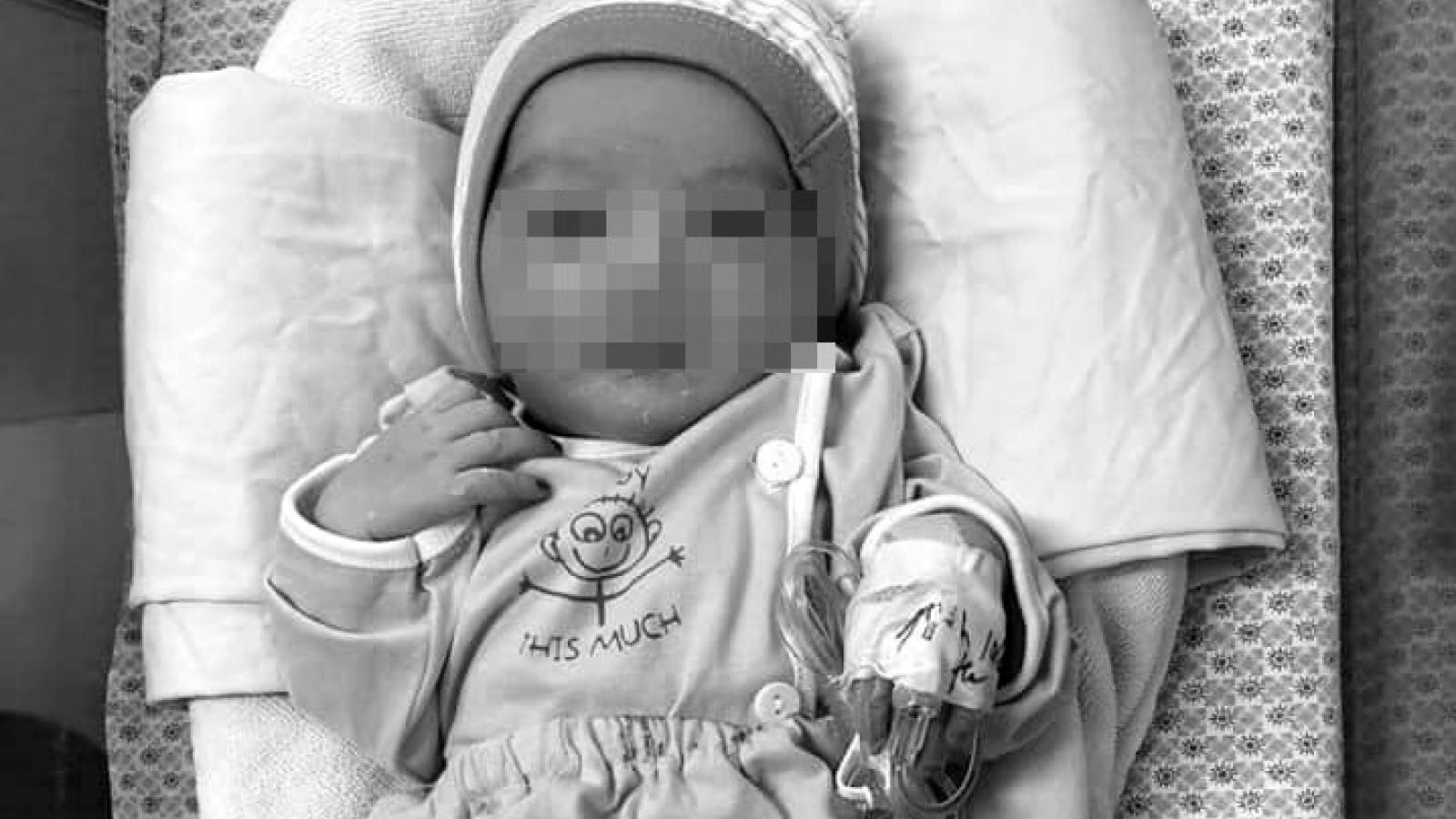 Bé trai 3 ngày tuổi bị bỏ rơi ở hố ga đã không qua khỏi