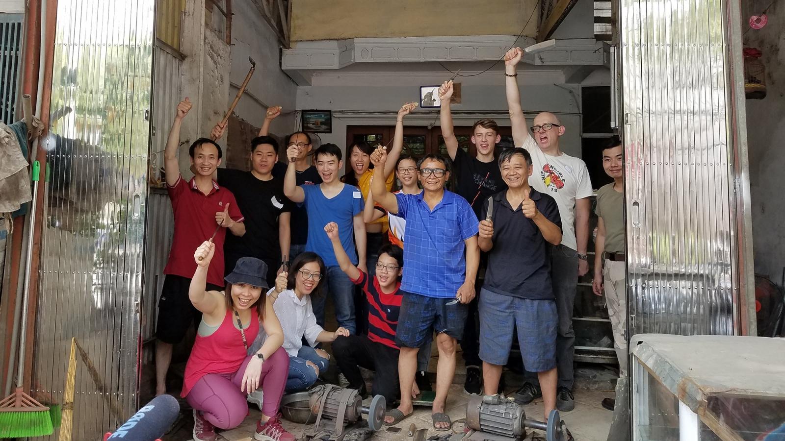 Lớp học nghề rèn Đa Sỹ mở lối đi cho du lịch làng nghề