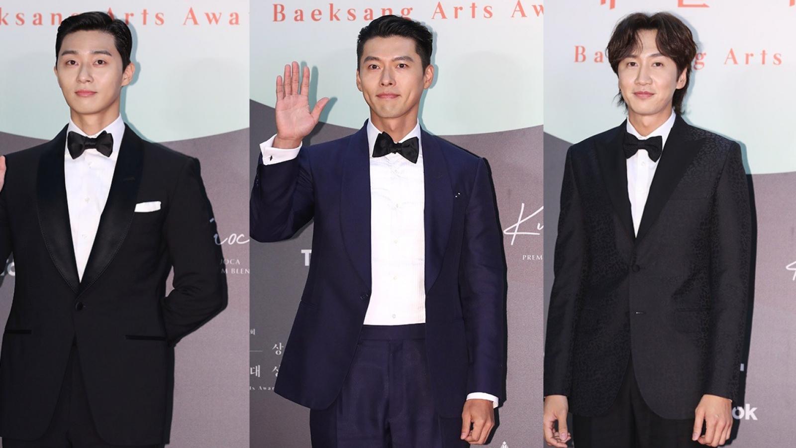 Hyun Bin, Park Seo Joon lịch lãm trên thảm đỏ lễ trao giải Baeksang