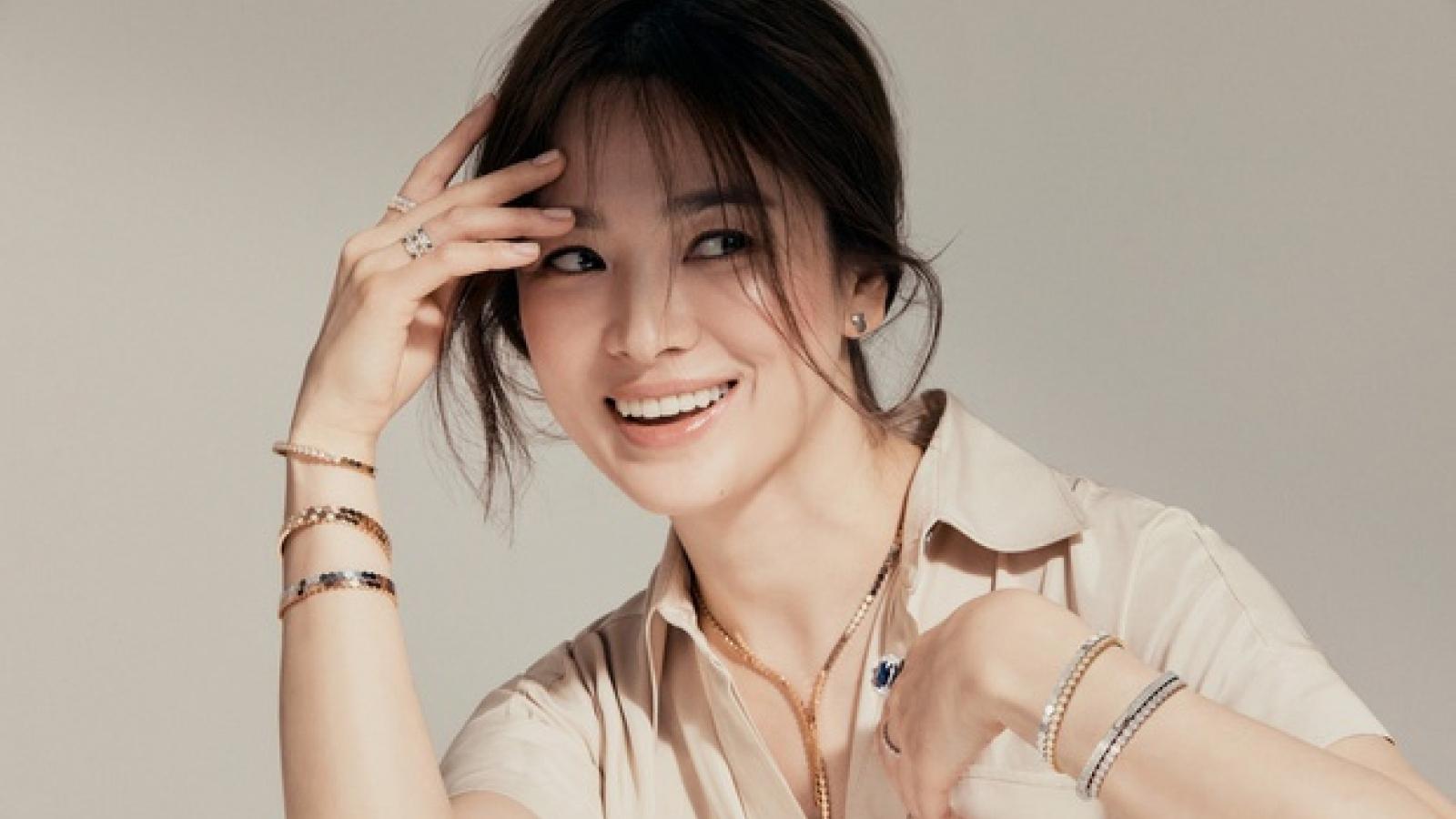 Song Hye Kyo trải lòng về tình yêu sau khi phủ nhận tái hợp Hyun Bin