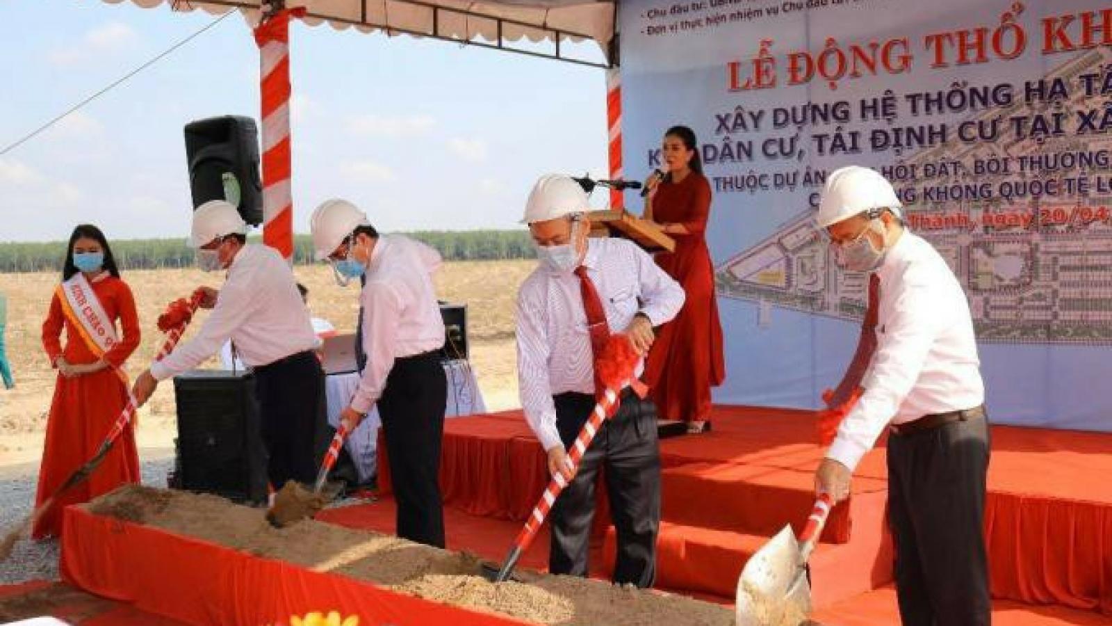 Khởi công dự án phục vụ cho sân bay quốc tế Long Thành