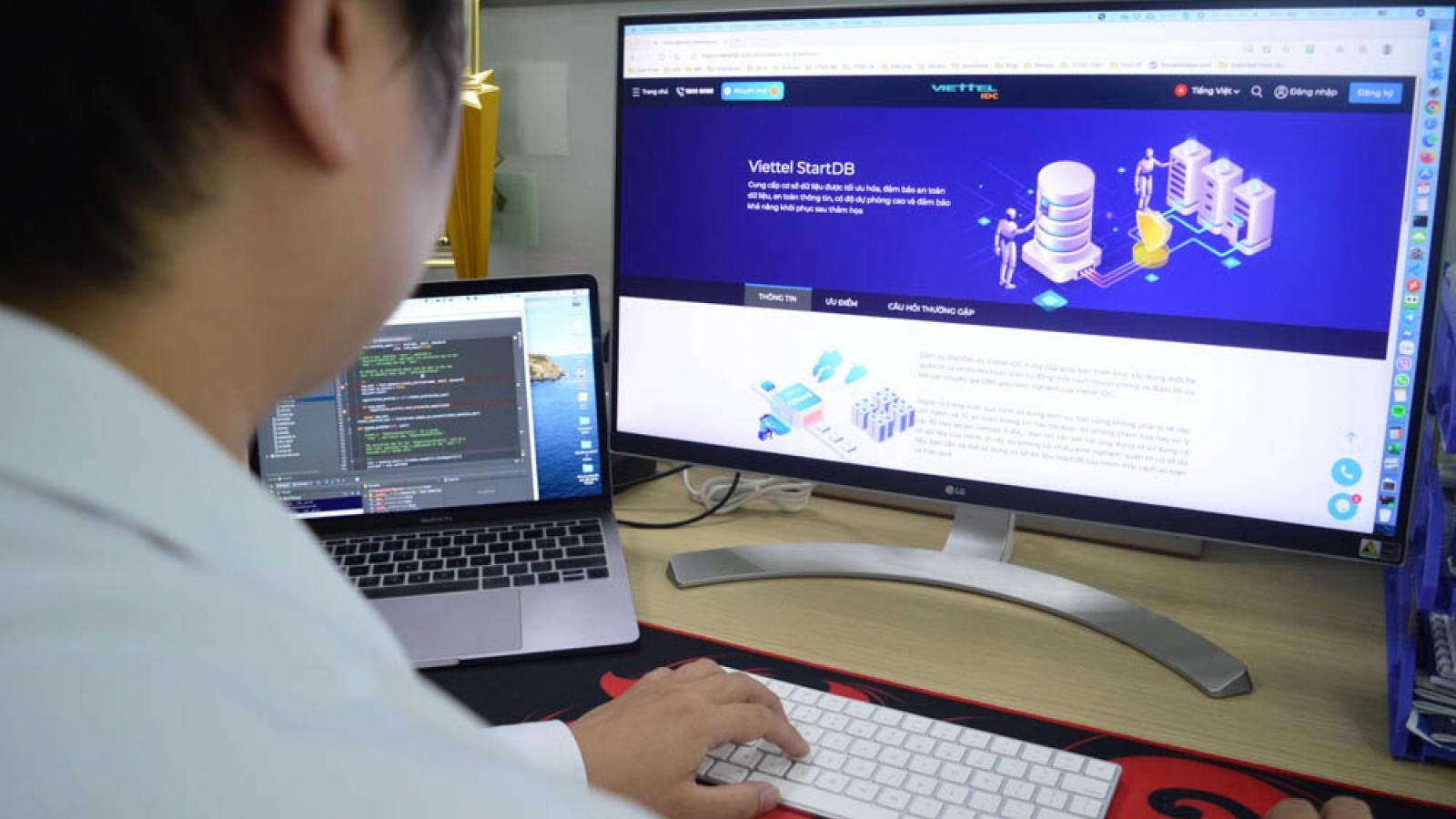 Viettel gỡ khó cho DN bằng dịch vụ Database điện toán đám mây