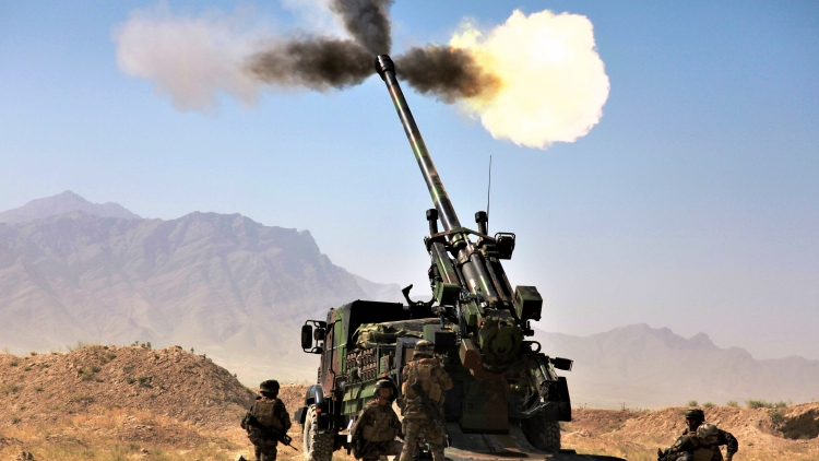 Quân đội Séc thay pháo tự hành nội bằng pháo Pháp