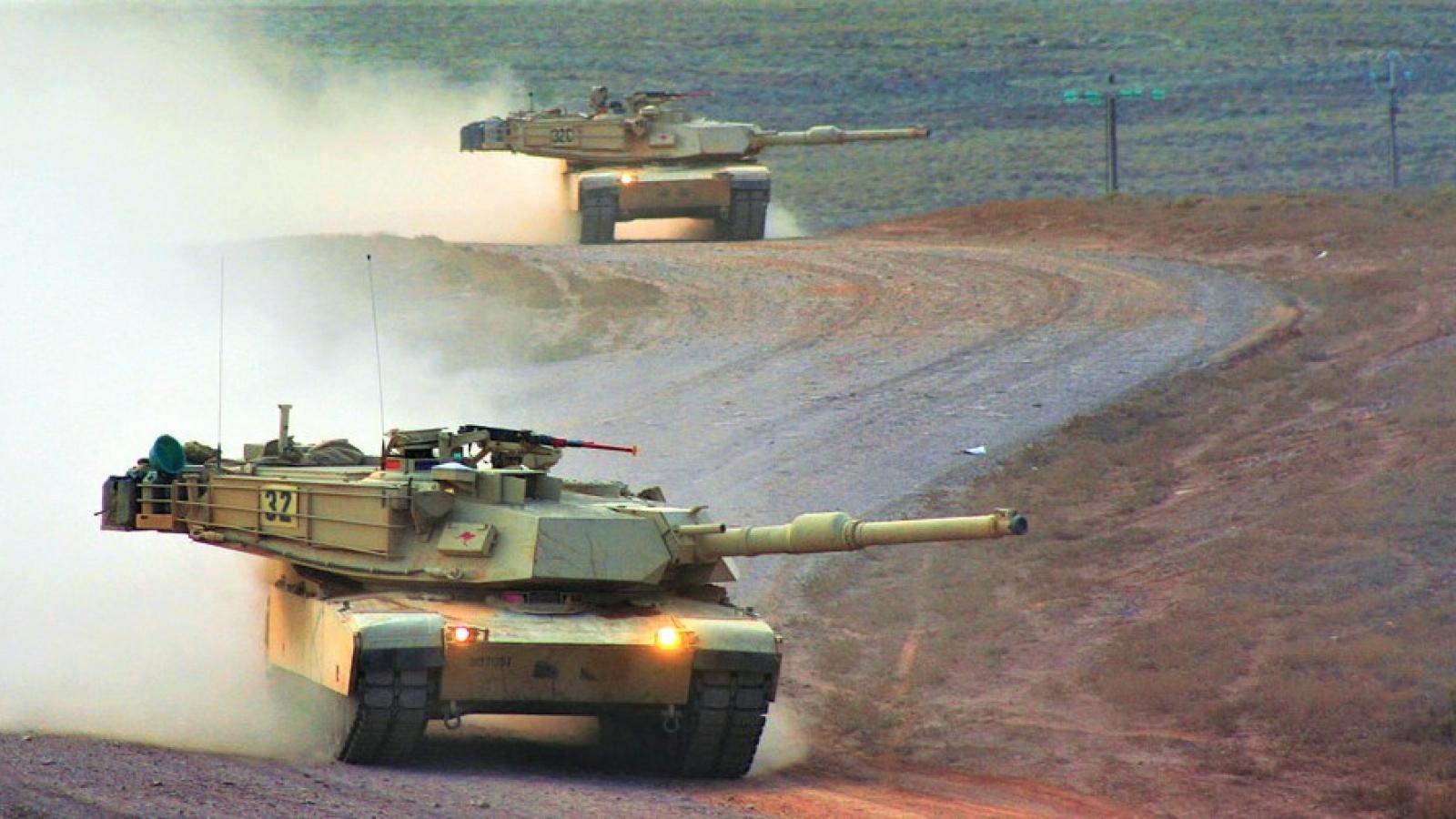 """Xe tăng M1 Abrams không còn là """"Number 1"""""""