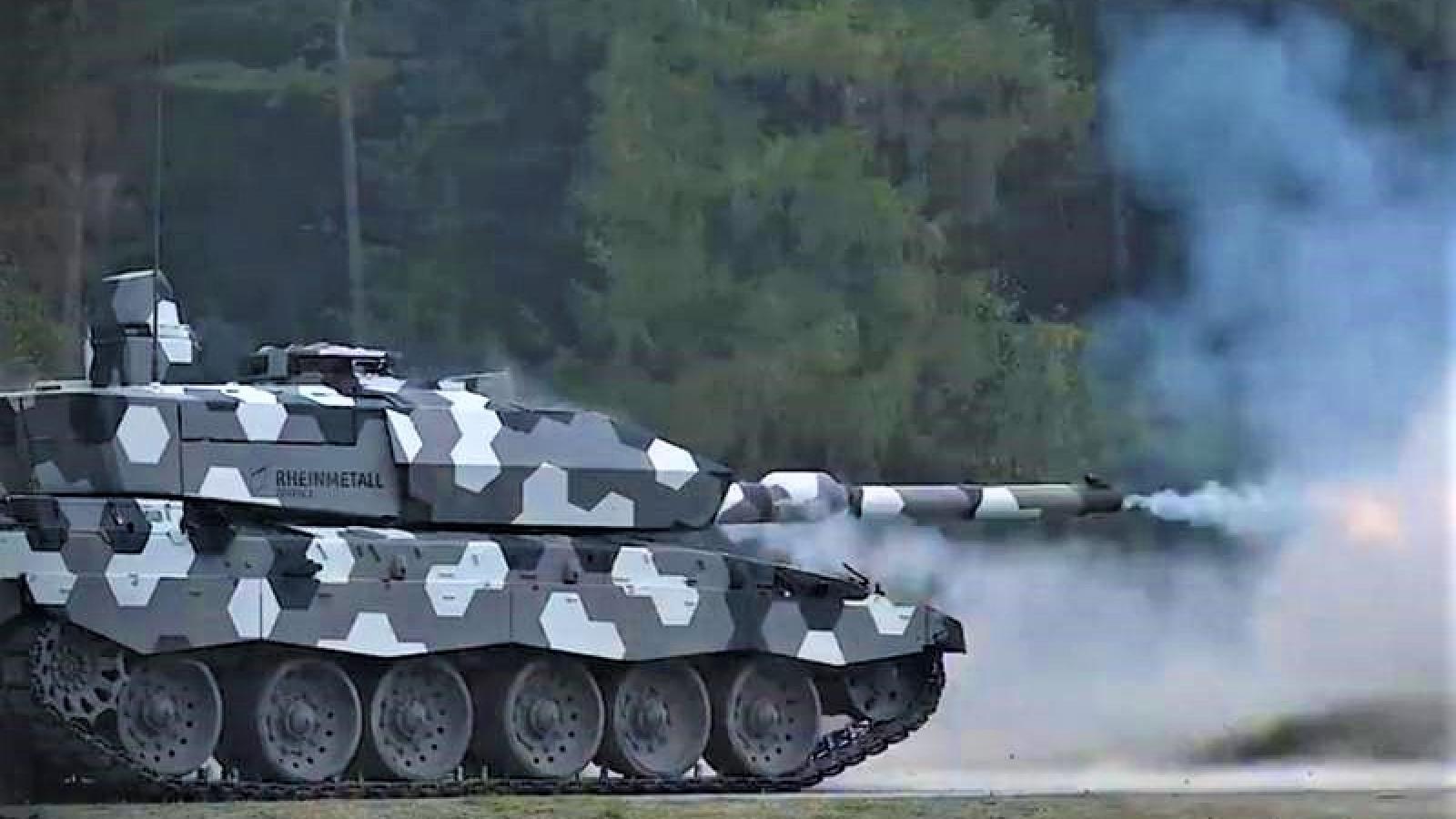 """Pháo NG 130 - """"Khắc tinh"""" tăng Armata và T-90"""