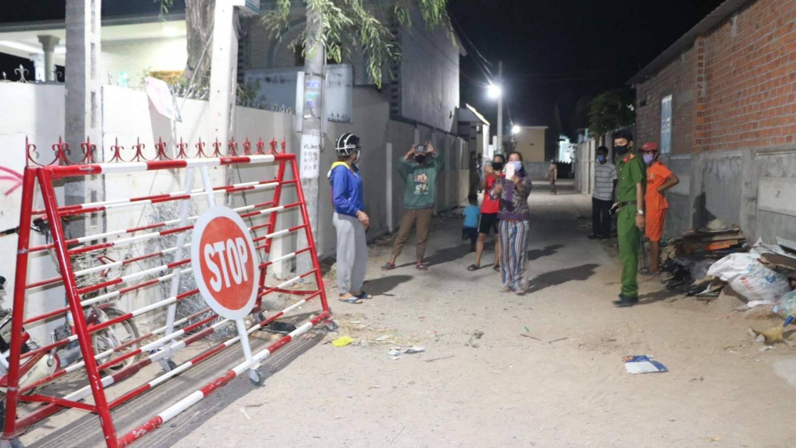 Thôn Văn Lâm 3 ở Ninh Thuận được tháo gỡ lệnh phong tỏa