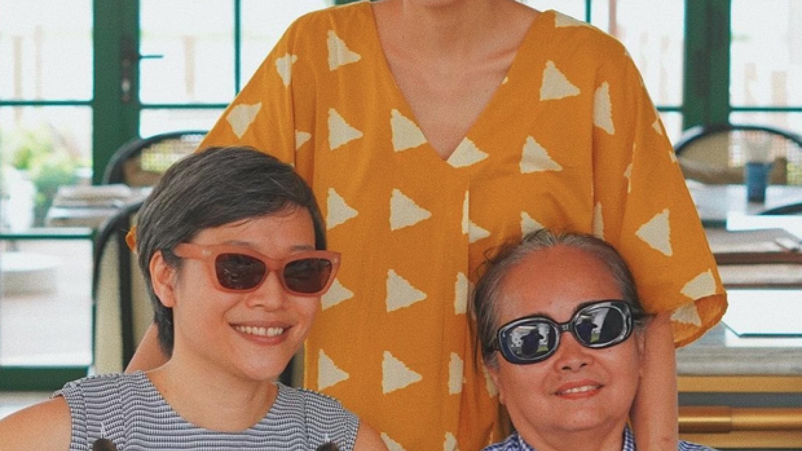 Chuyện showbiz: Tăng Thanh Hà khoe khoảnh khắc hiếm bên gia đình