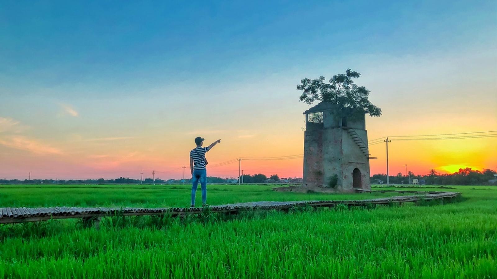 Lò gạch cũ gần Hội An đẹp như phim trong khung hình check-in