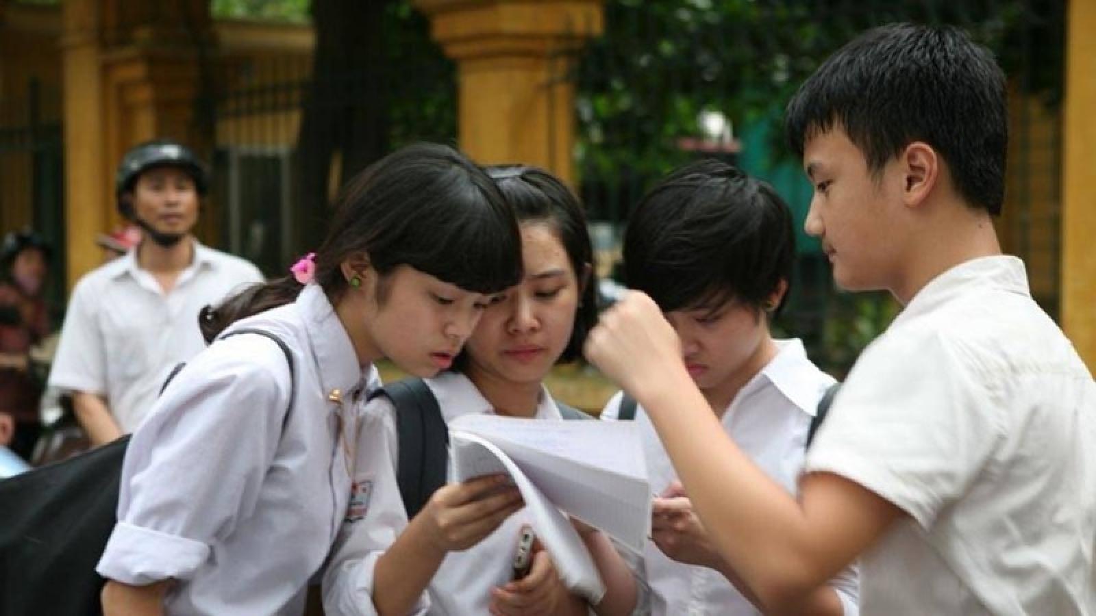 Từ 13h30 hôm nay, học sinh Hà Nội xác nhận nhập học trực tuyến vào lớp 10