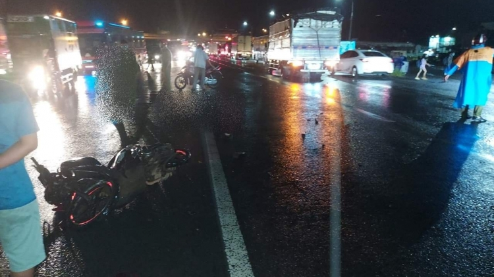 Lại xảy ra chết người trên đường thi công chậm tiến độ ở Đồng Nai