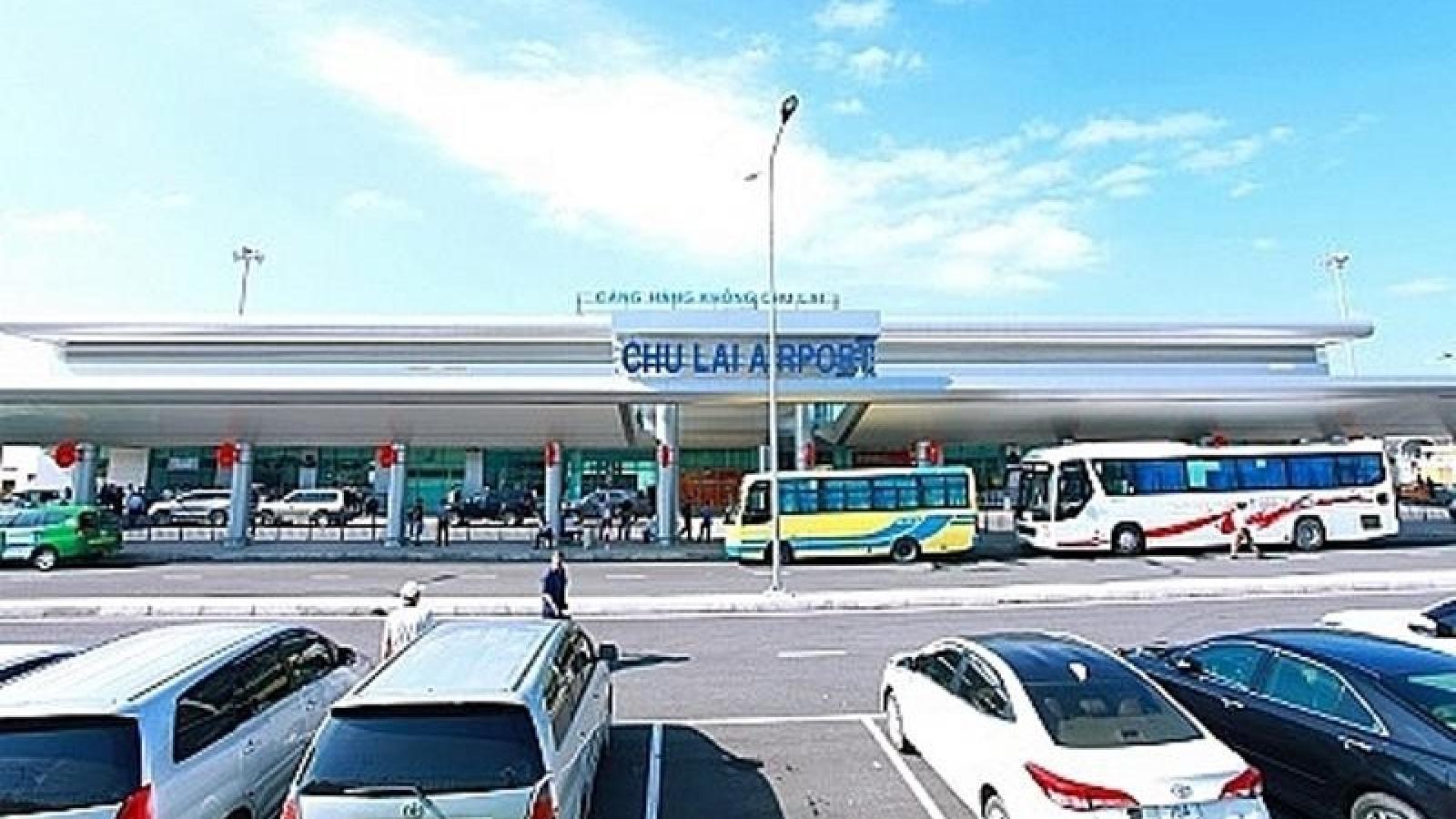 Quảng Nam đề nghị tạm dừng các chuyến bay đi và đến sân bay Chu Lai