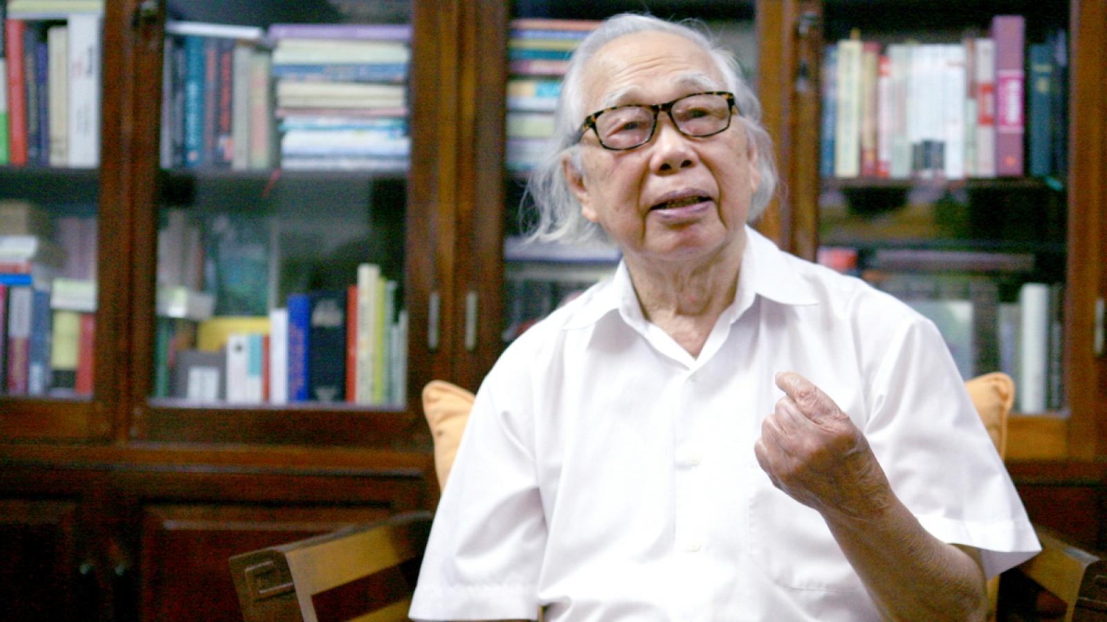 """Nhà báo Phan Quang: """"Tôi để nghề báo ngập lụt cuộc đời tôi"""""""