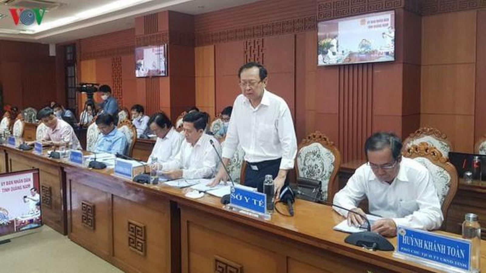Quảng Nam hủy gói thầu mua máy xét nghiệm trị giá hơn 7,2 tỉ đồng