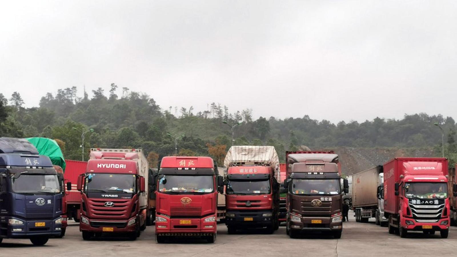Cặp cửa khẩu Tân Thanh - Pò Chài thông quan 7 tiếng mỗi ngày