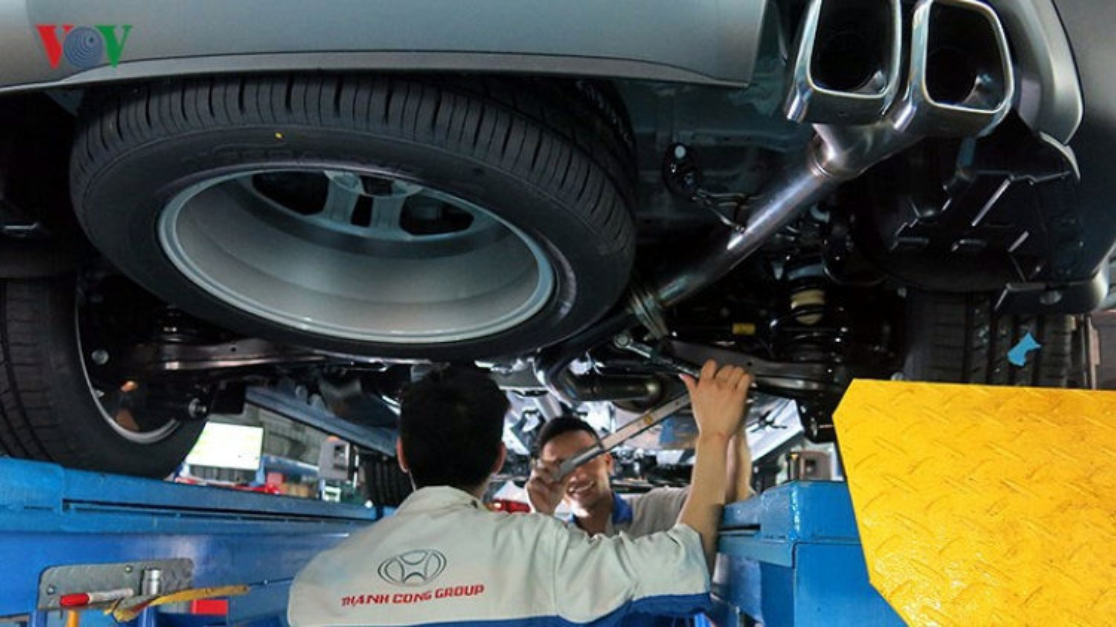 Nhập khẩu linh kiện ô tô sẽ được ưu đãi thuế suất 0%