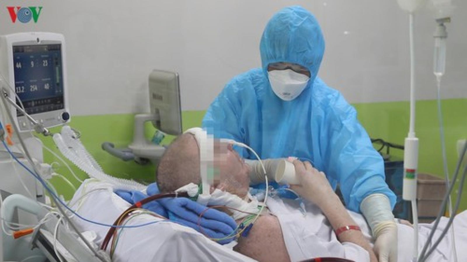 Bệnh nhân 91 sẽ được ngừng kháng sinh khi đã đủ liều