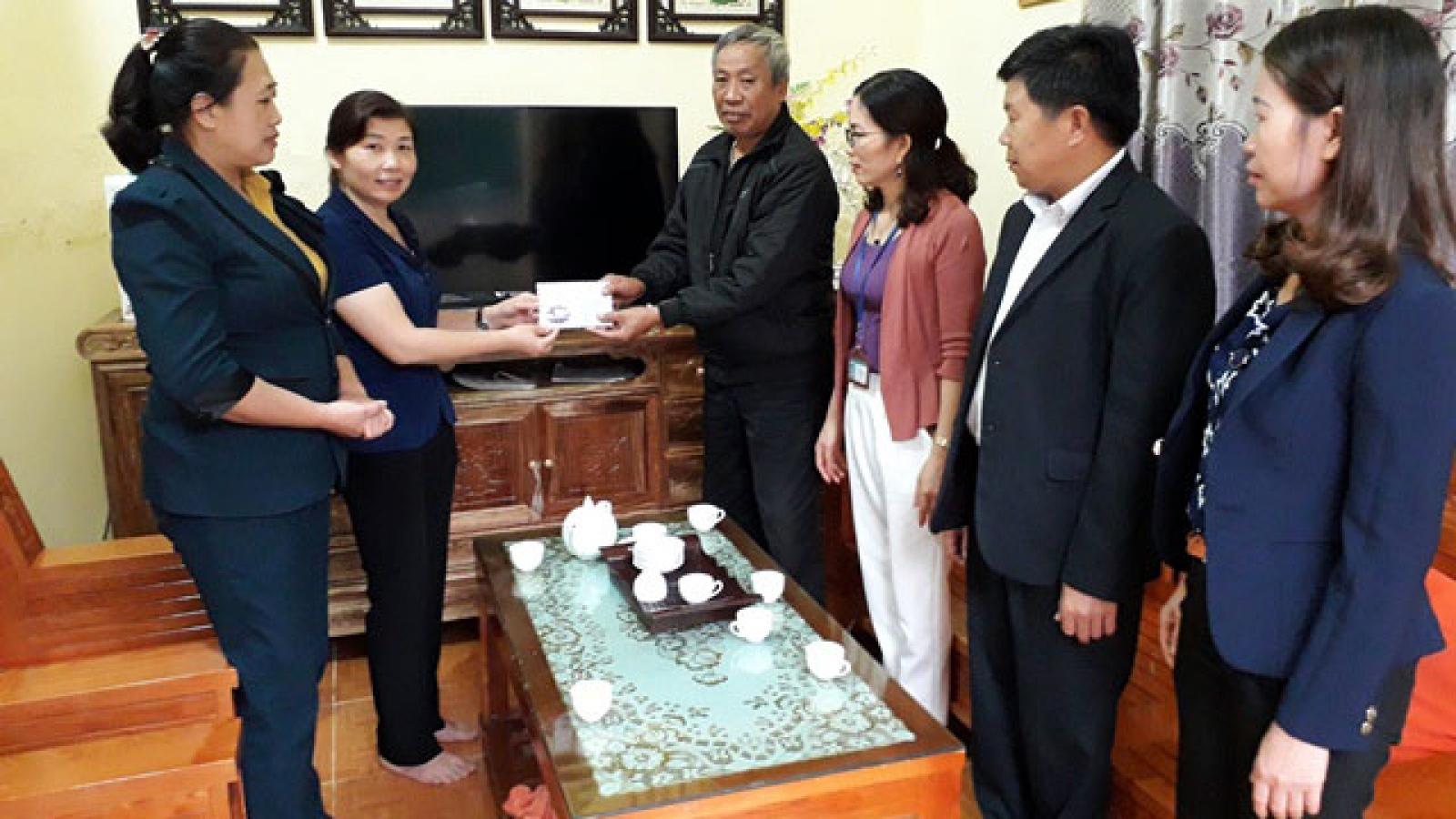 Nhiều chính sách kịp thời hỗ người có công ở Lai Châu