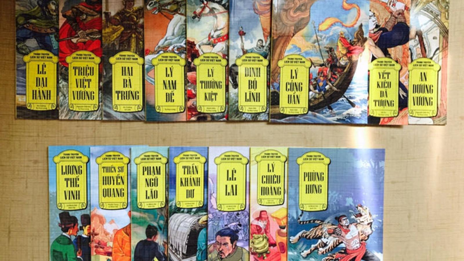 Học lịch sử Việt bằng truyện tranh