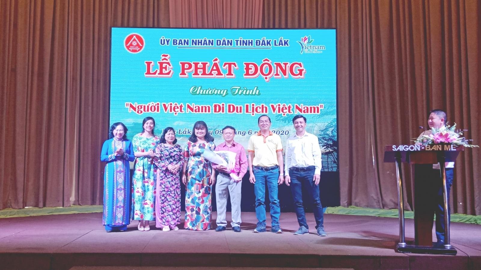 """Phát động chương trình """"Người Việt Nam đi du lịch Việt Nam"""" ở Đắk Lắk"""