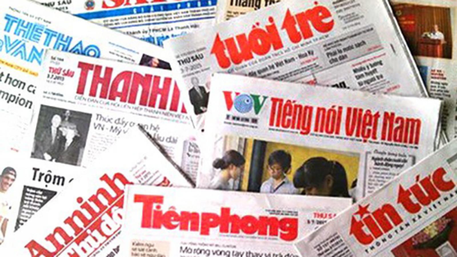 """Quy hoạch báo chí: Cần giám sát chặt chẽ, tránh """"bình mới rượu cũ"""""""