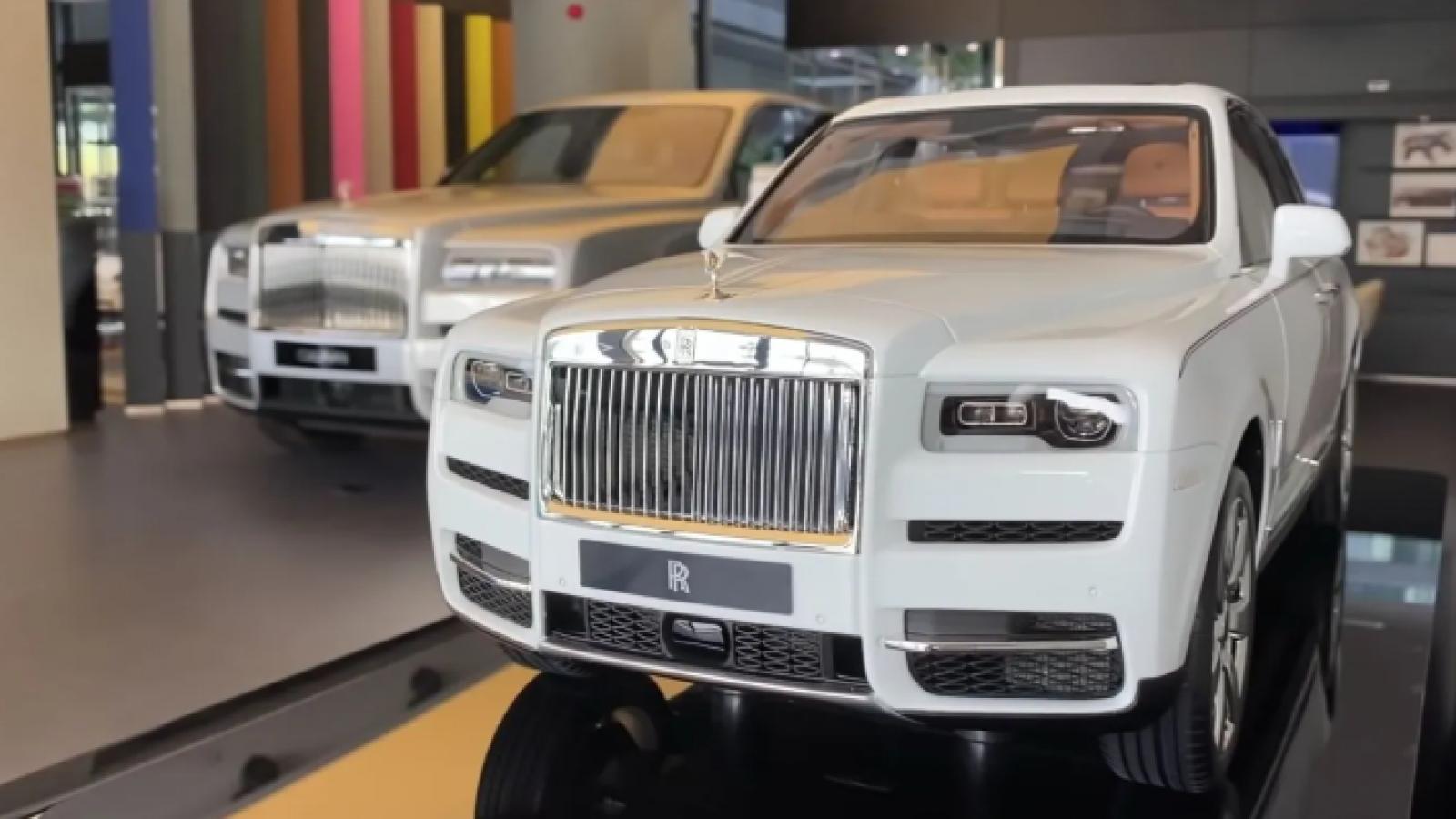 Cận cảnh bản sao Rolls-Royce Cullinan có giá bằng một chiếc BMW X3