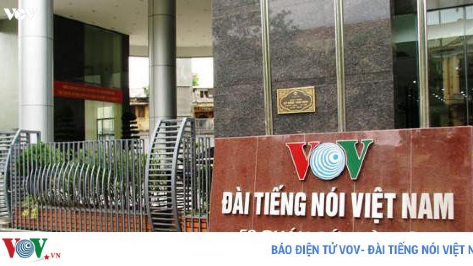 VOV tuyển dụng bổ sung chuyên viên làm việc tại Ban Hợp tác quốc tế