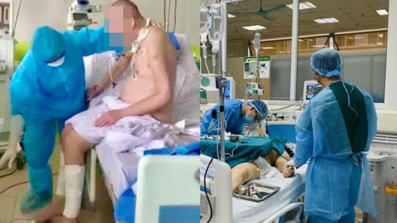 Sự tận tâm, tử tế tạo nên sự hồi phục kỳ diệu của bệnh nhân Covid-19