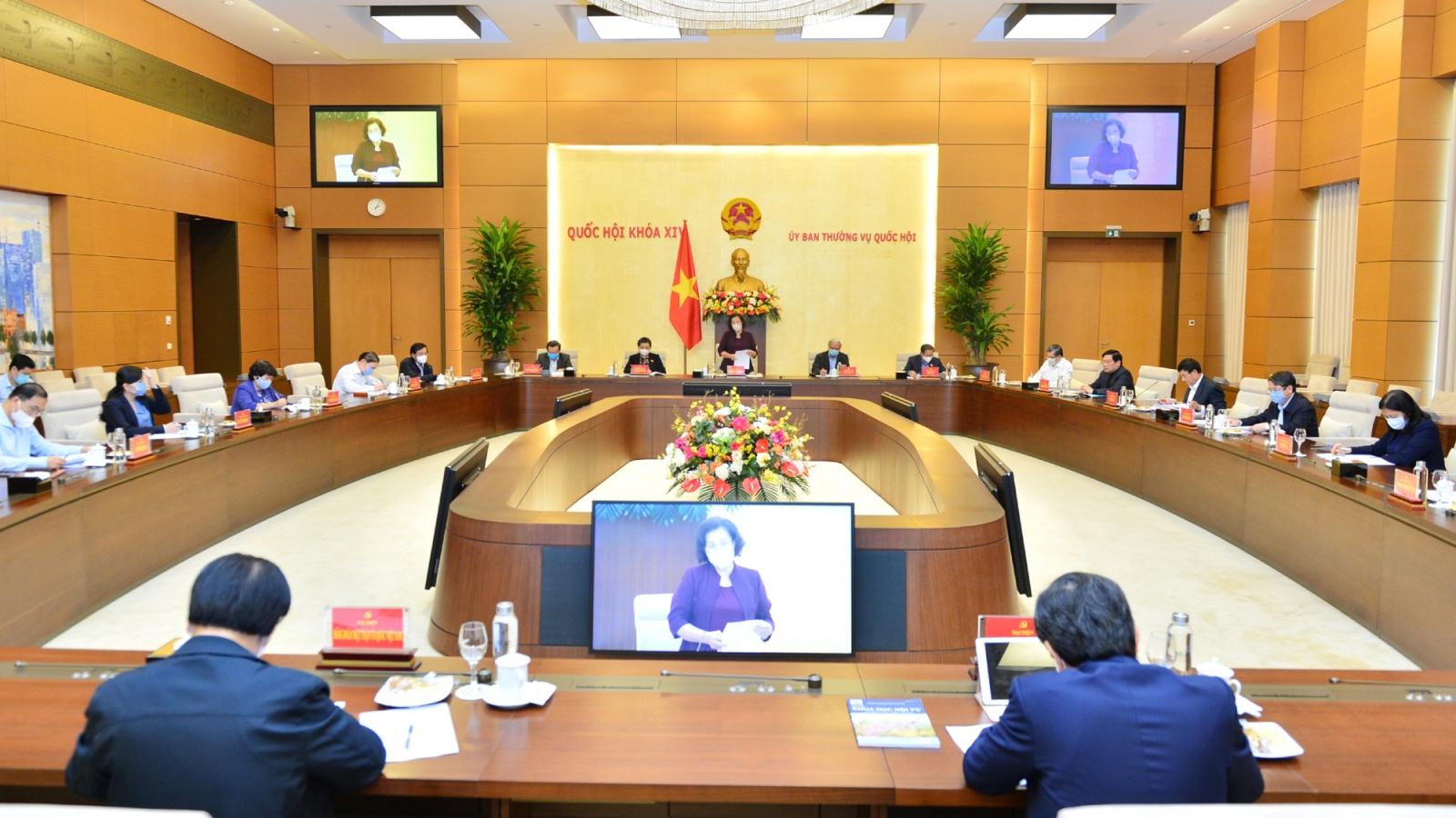 Quốc hội cho ý kiến về Đề án bầu cử ĐBQH khóa XV