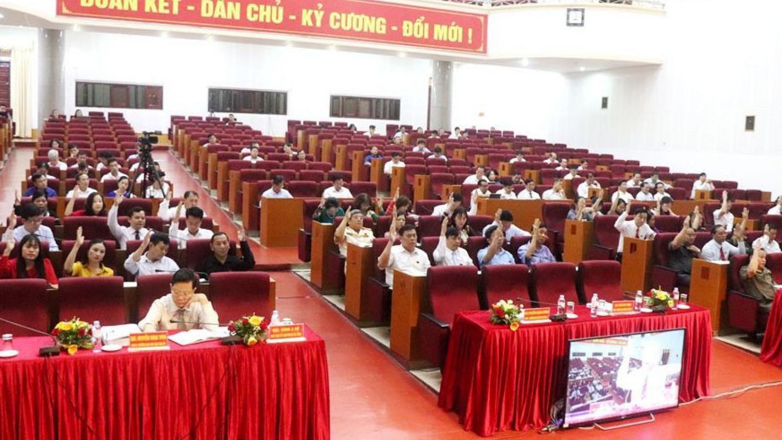 HĐND tỉnh Lai Châu bầu bổ sung 3 Ủy viên UBND tỉnh
