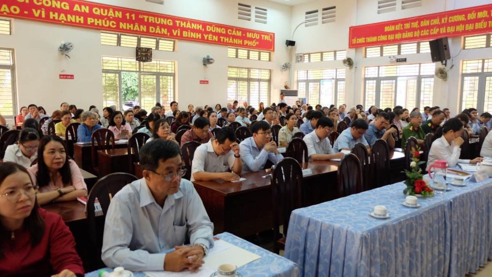 Cử tri TPHCM đề nghị tăng cường giám sát, hạn chế sai phạm của cán bộ lãnh đạo