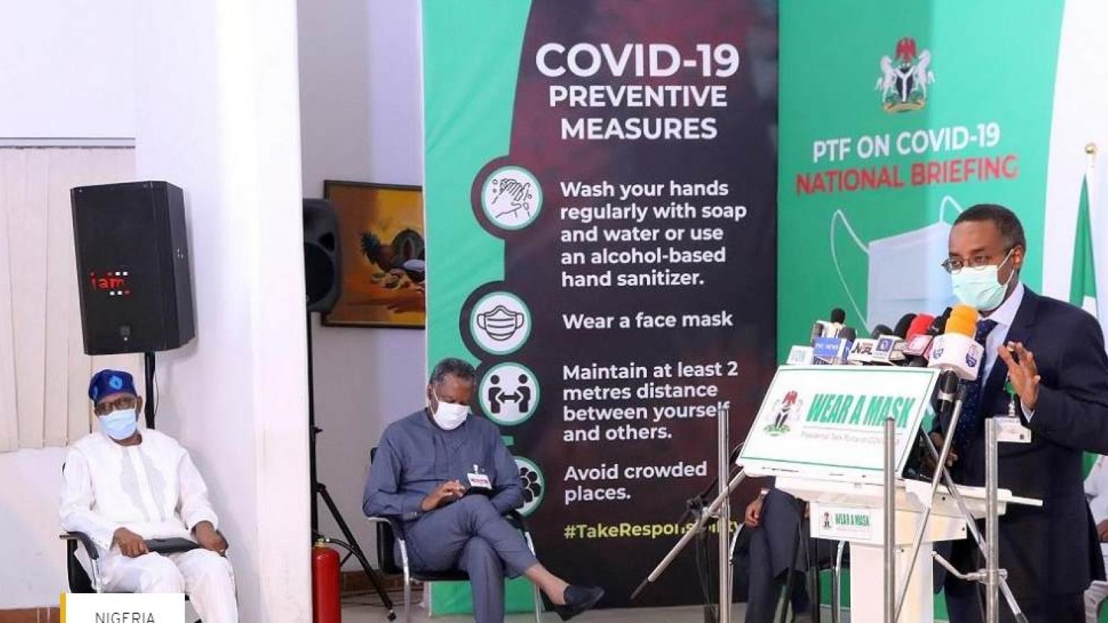 Ngoại trưởng Nigeria dương tính với virus SARS-CoV-2