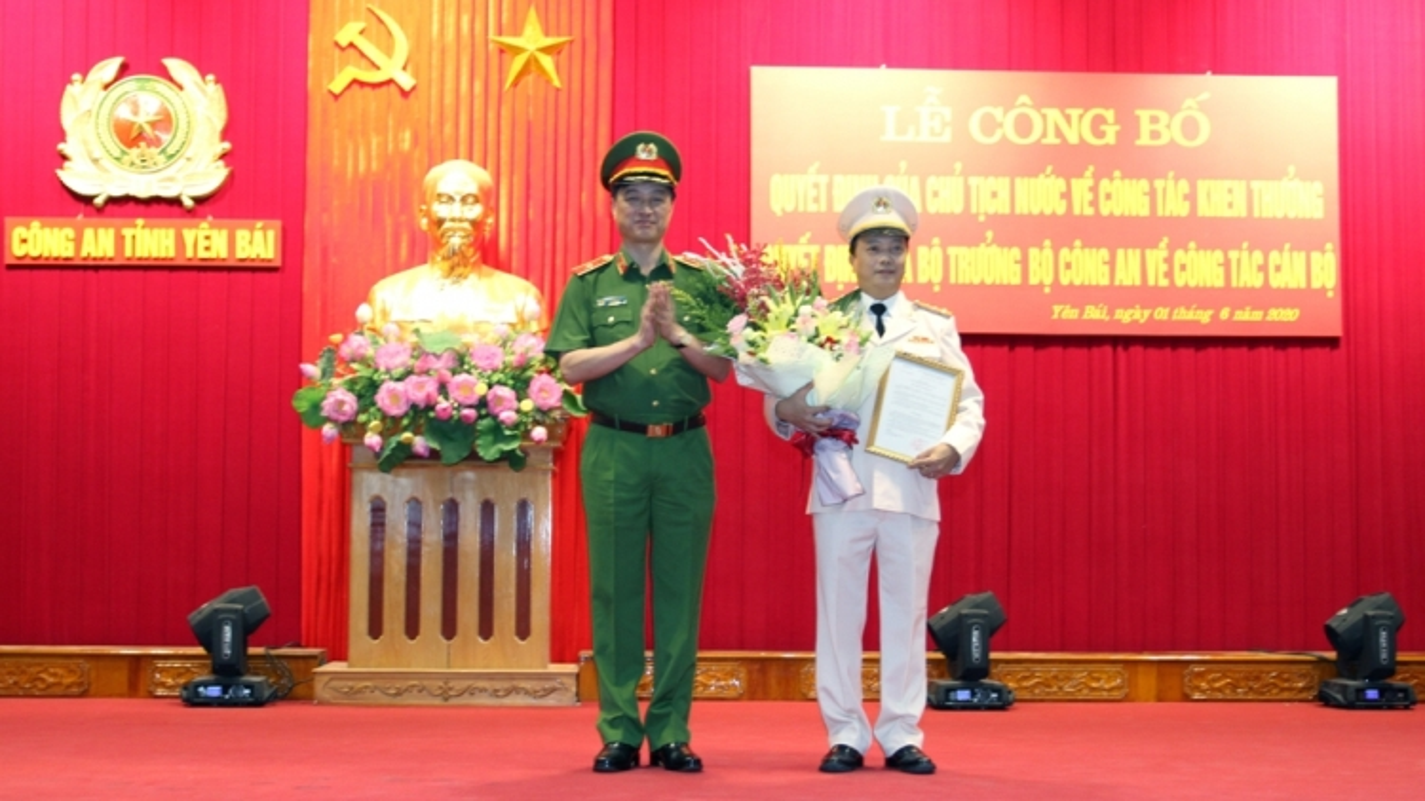 Phó Tư lệnh, Bộ Tư lệnh Cảnh vệ làm Giám đốc Công an Yên Bái