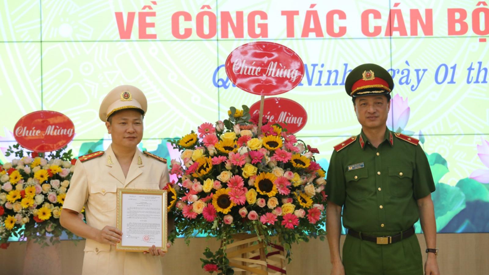 Đại tá Nguyễn Ngọc Lâm giữ chức Giám đốc Công an tỉnh Quảng Ninh