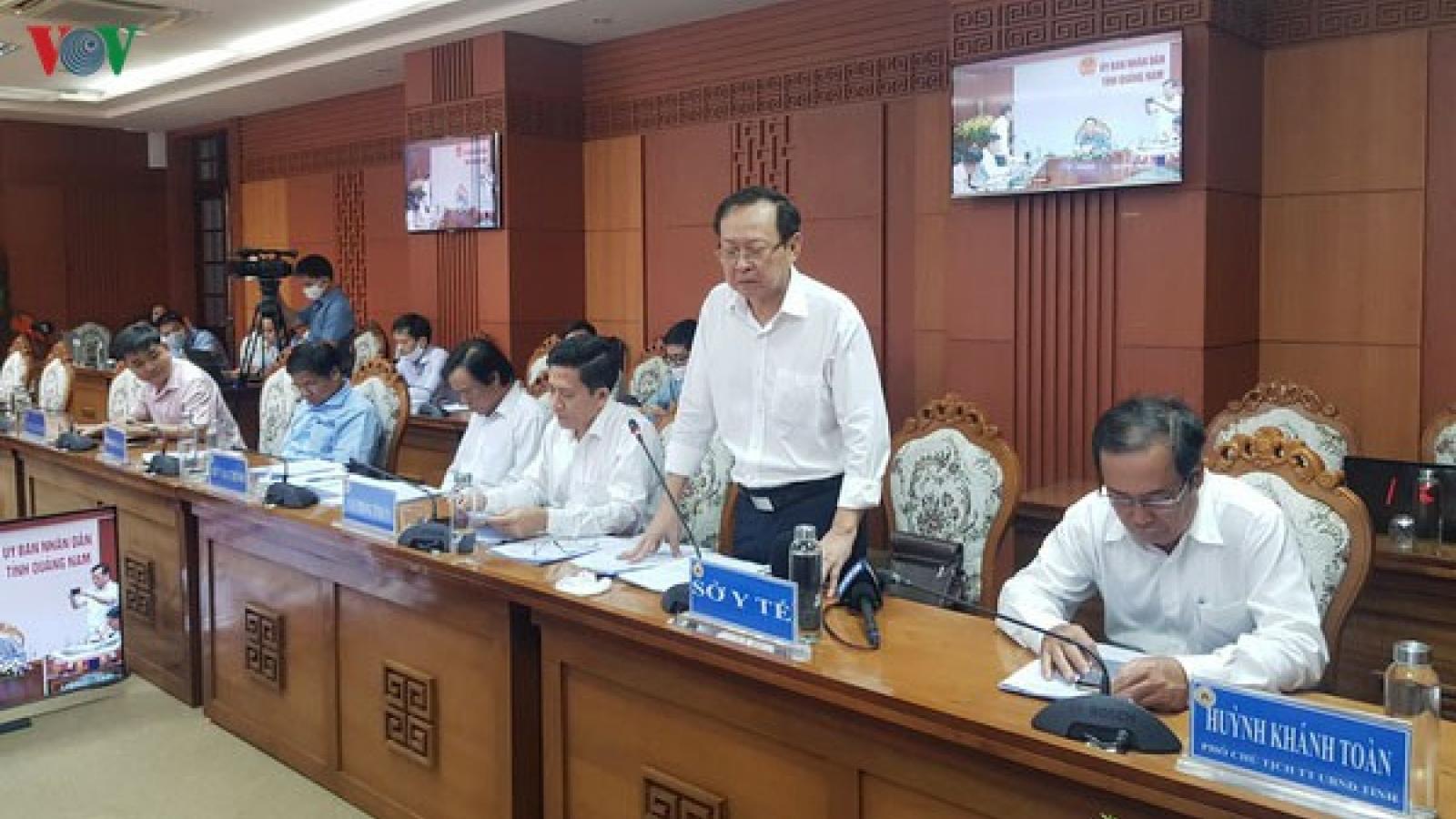 Quảng Nam đề nghị kiểm điểm 2 Giám đốc Sở vụ mua máy xét nghiệm 7,2 tỷ đồng