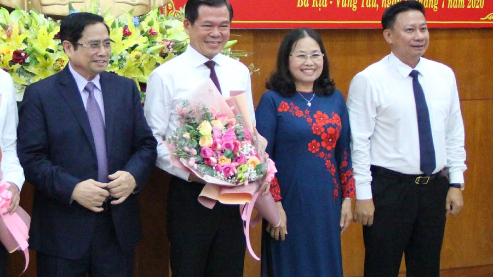 Ông Phạm Viết Thanh giữ chức Bí thư Tỉnh ủy Bà Rịa - Vũng Tàu
