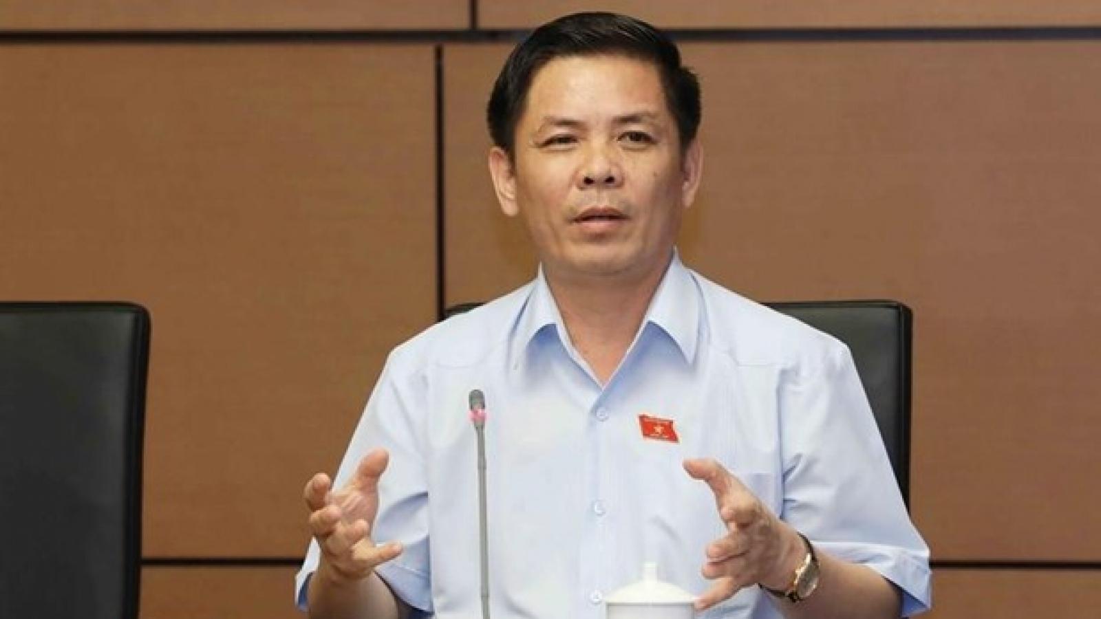 """Bộ trưởng Nguyễn Văn Thể tự """"nghiêm khắc phê bình"""" vì chậm thu phí không dừng"""