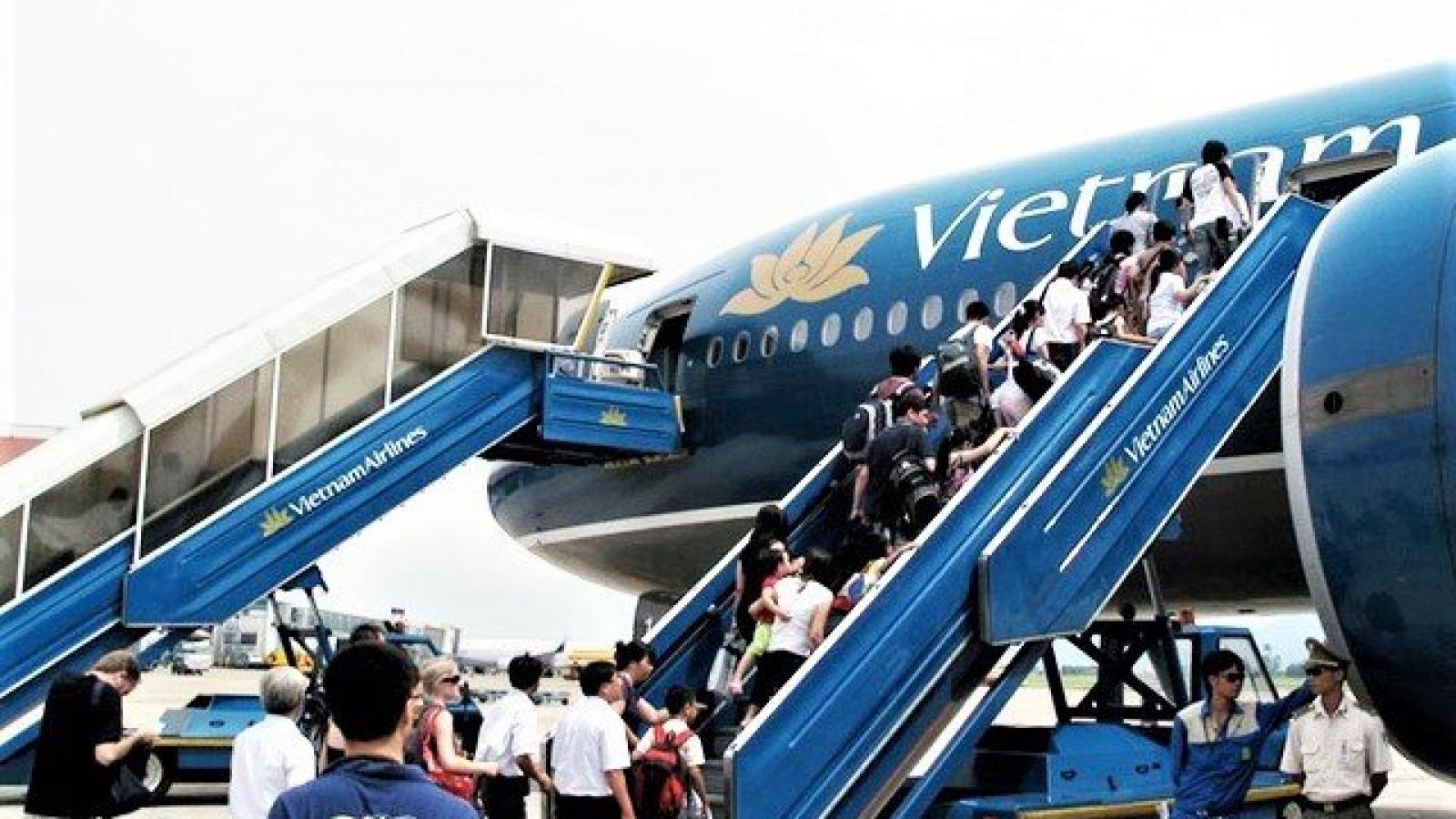 Chưa dừng các chuyến bay đi, đến sân bay Chu Lai do dịch Covid-19