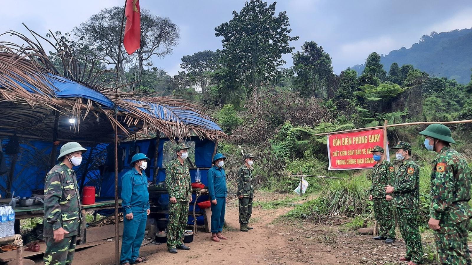 Ngăn chặn người nhập cảnh trái phép tuyến biên giới Quảng Nam